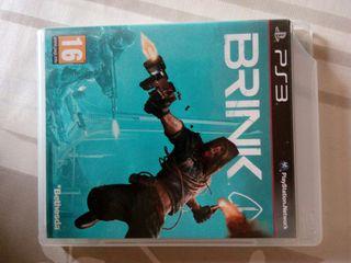 BRINK accion ps3 juegos economico