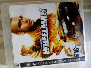 Juego ps3 wheelman vin diesel juegos accion combat