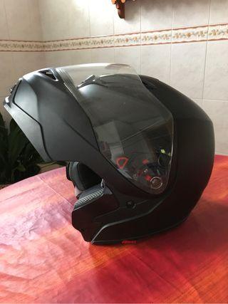 3x1. Casco moto, prácticamente nuevo, casi sin uso Shark RSF21 Fusión talla L. En garantía
