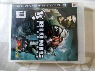 BIONIC COMMANDO Ps3 playstation 3 juego accion