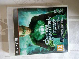 PS 3 PS3 GREEN LANTERN LINTERNA VERDE gran juego