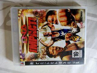 Ps3 TNA IMPACT lucha libre luchadores