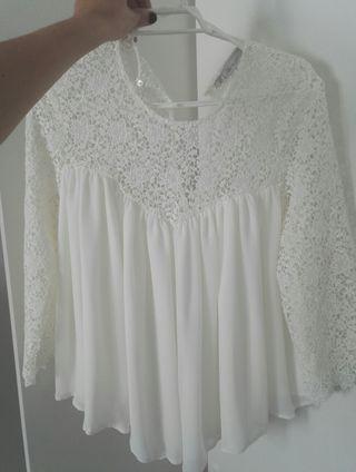 blusa de Zara