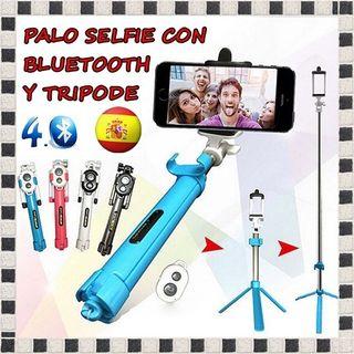 Palo selfie trípode Bluetooth 4.0 para IOS Android