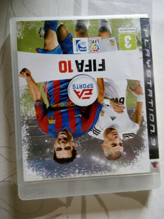 Ps3 FIFA 10 juego mitico