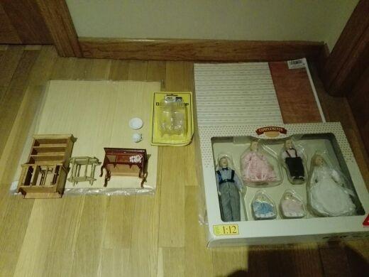 Conjunto de accesorios para casa de mu ecas de segunda - Accesorios para casa de munecas ...