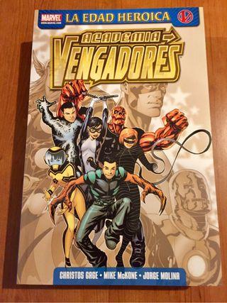 Comics Academia Vengadores