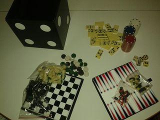 Juegos de salón: poker, ajedrez... OFERTA