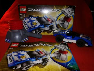 Lego Racers. Coche Policía.