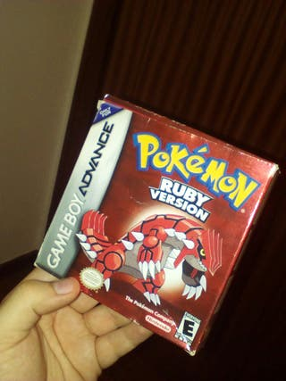 Pokemon Rubí Gameboy Advance