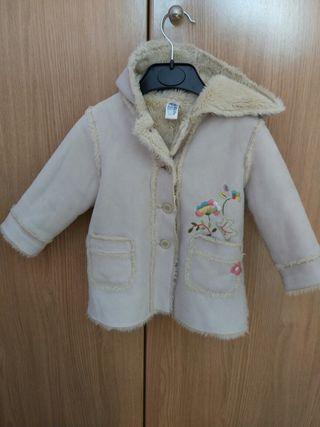 abrigo bebe 12-18m