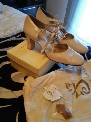 zapatos de novia de colores de segunda mano en terrassa en wallapop