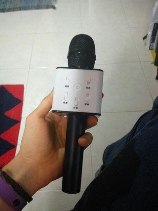 Micrófono bluetooth
