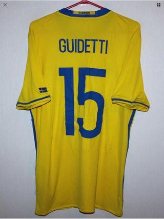Camiseta Suecia Guidetti. Celta Vigo, ALAVES