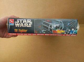 maqueta star wars tie fighter darth vader