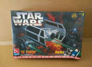 maqueta star wars tie fighter darth vader