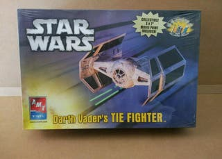 maqueta star wars tie fighter darthvader