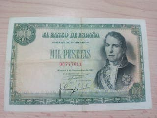 1000 pesetas de 1949