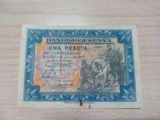 1 peseta 1940
