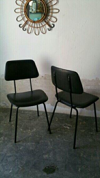 pareja de sillas vintage.