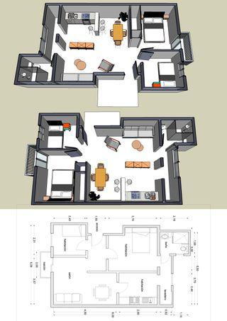 Delineacion de planos e imágenes en 3D