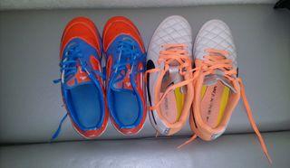 botas de futbol(2pares)