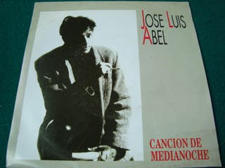"JOSE LUIS ABEL.- CANCION DE MEDIANOCHE- VINILO 7""."