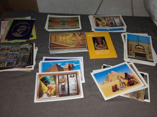 118 postales londres y egipto