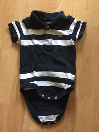 Body polo Baby GAP 3-6 meses
