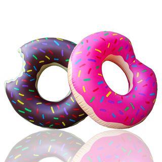 Flotador Gigante Donut de Fresa - Envío 24h