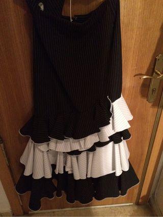 Vestido fos piezas flamenca