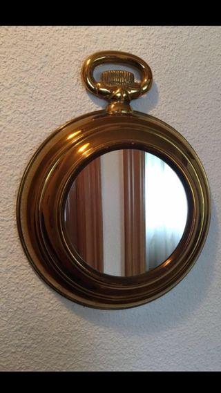 Espejo pares redondo cromado