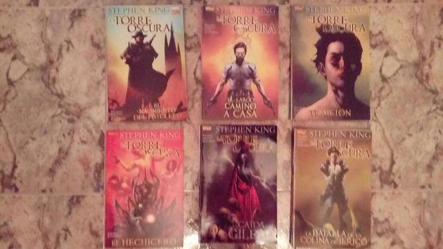 Colección de cómics La torre Oscura-Stephen King