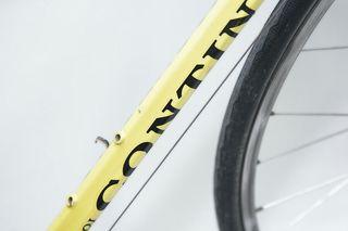Bicicleta clásica Goi Contini amarilla