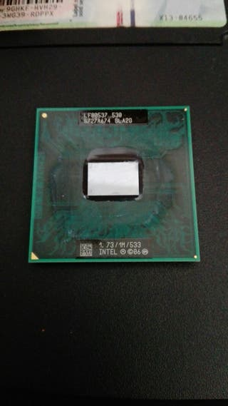 Microprocesador celeron mobile