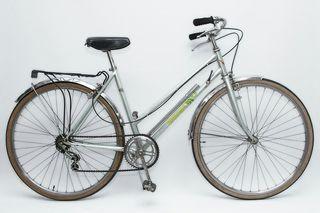 Bicicleta clasica Rabasa Derbi verde claro
