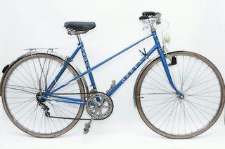 Bicicleta de paseo clásica Orbea Luarca azul