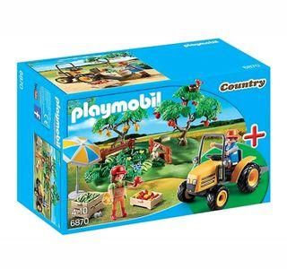 Playmobil Recolectores y Tractor 6870 Nuevo