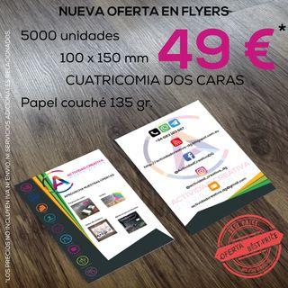 Flyers, PLV, folletos.