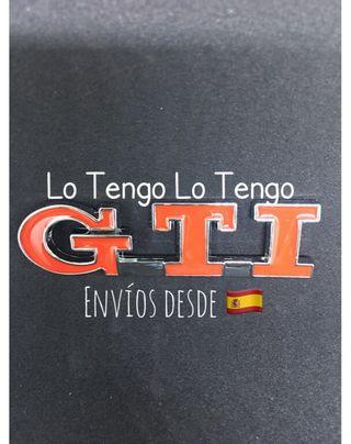 Anagrama Insignia Logo emblema VW GTI-2 modelos