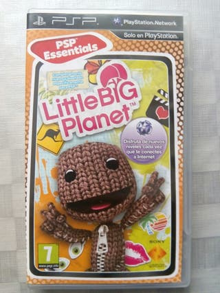 Juego Little big planet psp