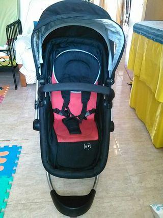 Carro bebé safe 2 en 1 muy buen estado