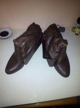 botas de media caña n°38