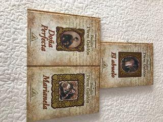 3 libros Benito Petez Galdos