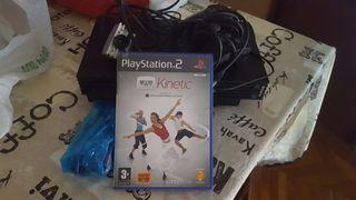 PlaySatation 2 + juego Kineyic + camara usb