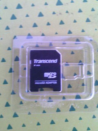 adaptador micro SD a SD