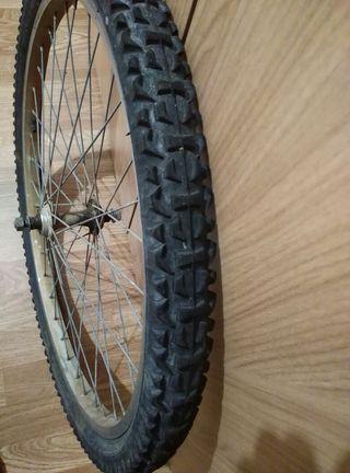 rueda bici delantera completa