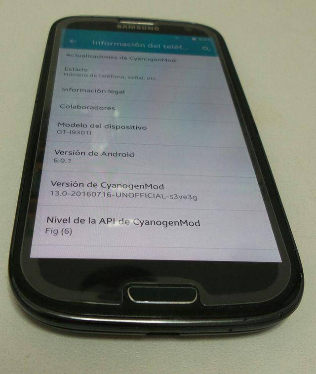 Smartphone Samsung Galaxy S3 Neo, USADO