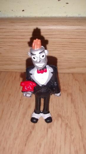 figura pvc goma robot de los Bluffers
