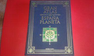 Gran atlas de España planeta